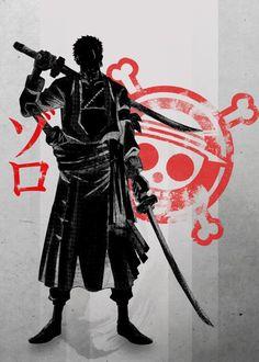 Pirate Hunter | Zoro by Fanfreak >> I love Zoro so freaking much