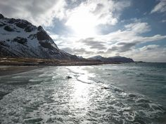 Surfing the Arctic Ocean by Christoph_Oberschneider Sport Photography Sport Photography, Lofoten, Arctic, My Images, Norway, Surfing, Online Shipping, Ocean, Explore