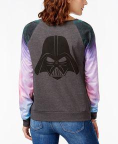 Juniors' Star Wars Darth Vader Graphic Pullover Sweatshirt from Hybrid