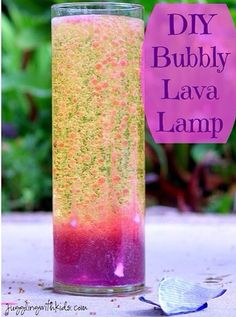 Lava Lamp Science Fair Project How To Make A Homemade Lava Lamp  Homemade Lava Lamp Lava Lamp And