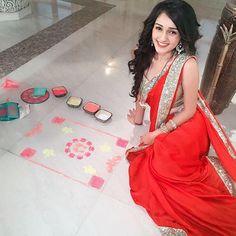 Tanya prepares for Diwali