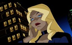 Justice League Marvel, Justice League Animated, Cartoon Icons, Girl Cartoon, Cartoon Art, Black Canary Comic, Hybrid Moments, Dc Comics Girls, Images Esthétiques