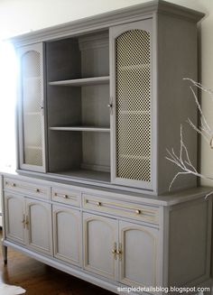 Annie Sloan Chalk Paint Colors | there's a peek for you off to the side. :)