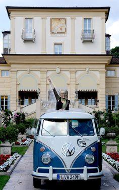 Volkswagen Camper Van front view