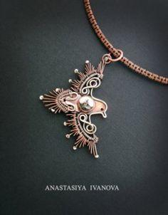 bird pendant by nastya-iv83 on @DeviantArt