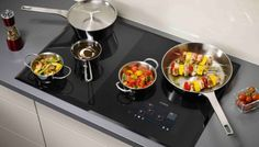 AEG's MaxiSense Combi induction hob Grand Designs Live, Kitchen Nightmares, Pan Set, Homemade Sauce, Healthy Side Dishes, Cookware Set, Learn To Cook, Food Preparation, No Cook Meals