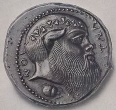 Satyr. Ancient Greek coin signed by artist - Google Search