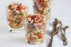 White Bean Roasted Red Pepper Salad