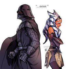 "Art Cactus - ""I would never let anyone hurt you, Ahsoka…"" part..."