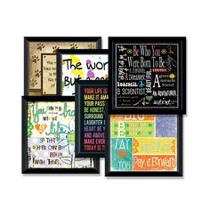 Assorted Trend Art, Give any room in your home a chic modern look with these assorted trend art pieces.