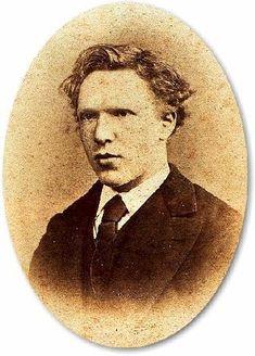 Vincent van Gogh (30 marzo 1853 a 29 julio 1890) Esta foto de Vincent, tomada a los 19 años, es sólo una de cuatro fotografías del pintor que se sabe que existe...