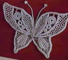 НАША СТРАНА МАСТЕРОВ: Бабочки крючком