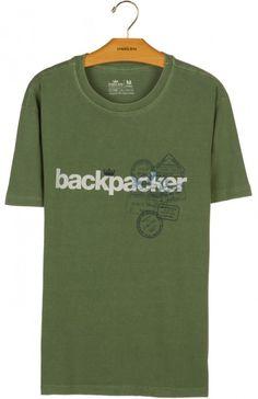 Osklen - T-SHIRT STONE BACKPACKER - t-shirts - men