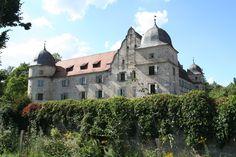 Schloss Mitwitz in Oberfranken (Freiherren von Würtzburg, Familie von Cramer-Klett)