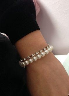 Diamond, Bracelets, Jewelry, Fashion, Spinning Top, Bangle Bracelet, Beads, Wristlets, Moda