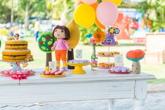 Festa Infantil | Dora Aventureira {Decoração e Papelaria: Santa Dica Festas | Fotografia: Carolina Almeida Fotografia}
