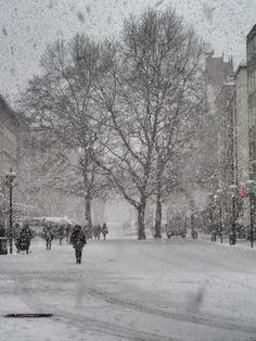 Munich city center - winter impression