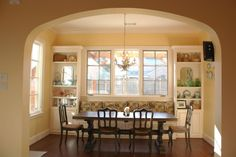 I have been looking at alot of pictures of breakfast nooks and banquettes for our new kitchen. I thought I would share some pics for others who are considering this design. If you have a banquette or nook or inspiration pic, please post. Symmetrical Designs: With Windows: Without Windows: U shaped d...