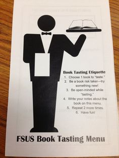 Three Ring Library: Book Tastings with Sixth Grade