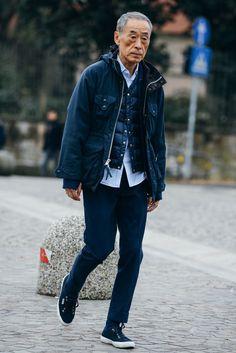 Menswear style, navy