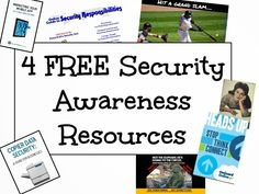 Four free security awareness resources to get products to add to your security awareness program.