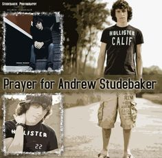 Prayers for my brother. <3