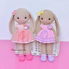 Amigurumi bunnies #crochet