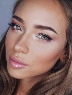 Pinks and golds #makeup