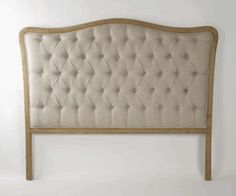 http://beautifulhomestore.com/tuheinnaliqu.html    Maison Tufted Headboard in Natural Linen Queen Size by Zentique - Free Shipping  Item#: ZenCL042QueenE255A003
