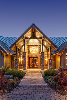 Elegant John Hall Custom Homes