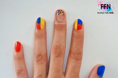 Más de 15 fotos de uñas decoradas con la bandera de Colombia | Decoración de Uñas - Manicura y Nail Art Colombia Flag, Mani Pedi, Ecuador, Cute Nails, Make Up, Nail Art, Patriots, Flags, Flag Nails