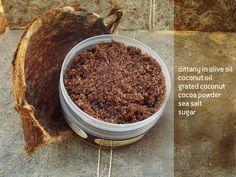 coconut body scrub antioxidant-refreshing