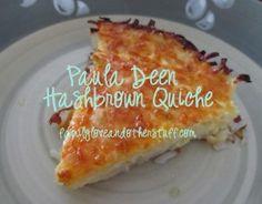 Paula Deen Hashbrown Quiche Recipe, add bacon or sausage