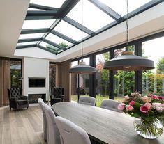 Pergola Attached To House Roof Code: 6989509321 Bungalow Extensions, Garden Room Extensions, House Extensions, Backyard Patio Designs, Pergola Patio, Pergola Kits, Pergola Ideas, House Extension Design, House Design
