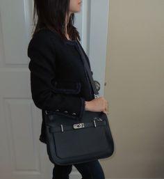 authentic hermes bag - Black Hermes Jypsiere 31 | Herm��s Jypsi��re | Pinterest | Hermes ...