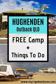 9 Things to do in the Outback QLD town of Hughenden. From Dinosaur Trail Museum and sculptures, to artwork, the longest river in Queensland (Flinders River), Porcupine Gorge and sheep shearing! Plus, there's a handy FREE CAMP in town. Australia Tourism, Queensland Australia, Roadtrip Australia, South Australia, Australian Continent, Airlie Beach, Holiday Places, Camping, Best Places To Travel