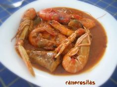 Zarzuela Shrimp, Dinners, Food, Happy, Dishes, Fast Recipes, Cook, Dinner Parties, Food Dinners