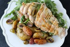 PaleOMG One Pan Baked Lemon & Dill Chicken and Potatoes