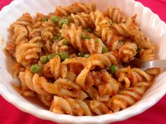 Pasta with Punjabi Tadka