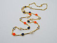 Sailor Colored Fashion Bohemian Long Gold by EllaHandmadeUnuque
