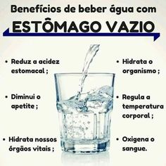 Benefícios de beber água com estômago vazio! Dieta Flexible, Healthy Habits, Healthy Recipes, Sugar Detox Plan, Weight Loss Tea, Easy Diets, Natural Detox, Keeping Healthy, Herbalife