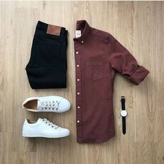 New Style Mens Casual Moda Masculina Ideas Business Casual Men, Men Casual, Casual Jeans, Smart Casual Menswear, Casual Shirt, Mode Outfits, Casual Outfits, Trendy Mens Outfits, Outfits For Men