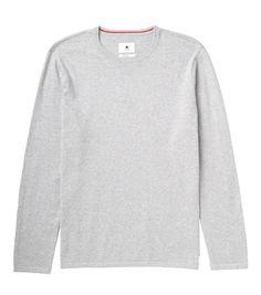 Burton Stowe Sweater Heather Grey