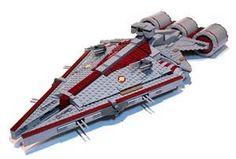 Lego star wars cruiser - Star Wars Models - Ideas of Star Wars Models - Lego star wars cruiser Bb8 Star Wars, Lego Star Wars Mini, Star Wars Clone Wars, Star Trek, Nave Lego, Pintura Exterior, Lego Army, Lego Ship, Lego Craft