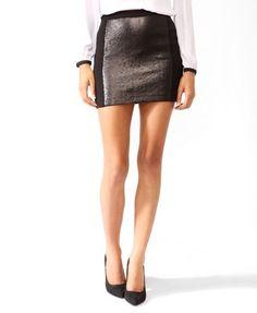 Sequined Panel Miniskirt | FOREVER21 - 2027705311##
