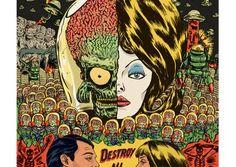 L'agence créativeKulta réalisé, pour son 16ième numéro de Kult magazine, 40 affiches de films classiques revisitées. Une équipe de 50 artistes a été mobi
