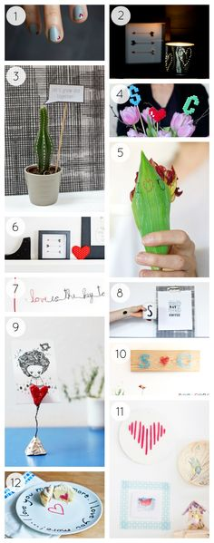 Are you ready for Valentine's Day? Not yet? Try these 12 Valentine's Day DIYs for a crafty celebration - bound to bring you in the mood for some love!