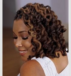 lovely color and curls