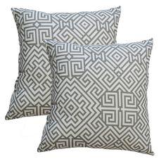 Fox Hill Trading Premiere Home Santorini Summerland Throw Pillow