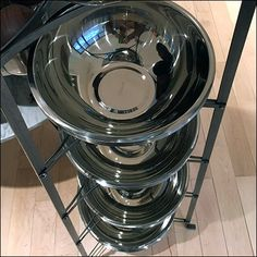 Williams Sonoma Stainless Mixing Bowl Tower Retail Displays, Williams Sonoma, Cookware, Tower, Kitchen Appliances, Cooking Utensils, Cooking Utensils, Kitchen Gadgets, Home Appliances